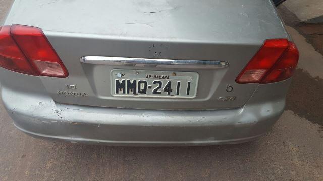 Número da placa é de SP, mas a tarjeta indica Macapá