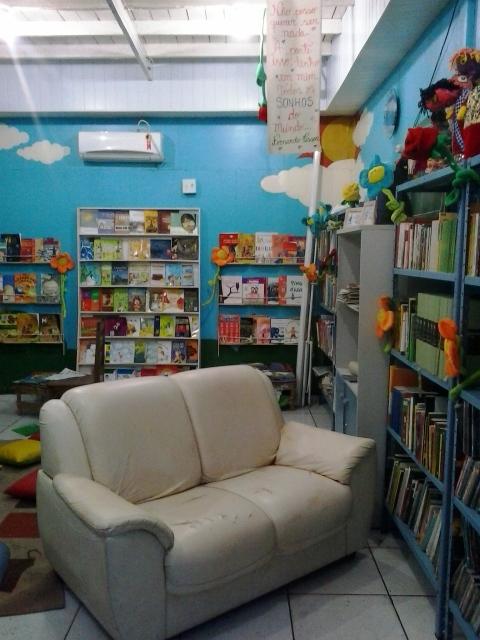 Espaço de leitura