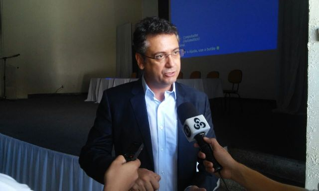 "Prefeito Clecio Luiz: "" Fotos: Cássia Lima"