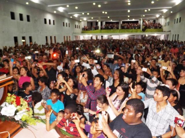 Centenas de pessoas participaram da programação do ano passado