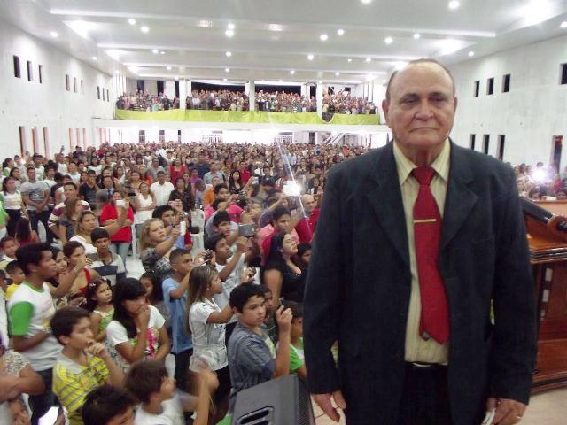 Pastor Dimas Leite Rabelo, presidente da Convenção