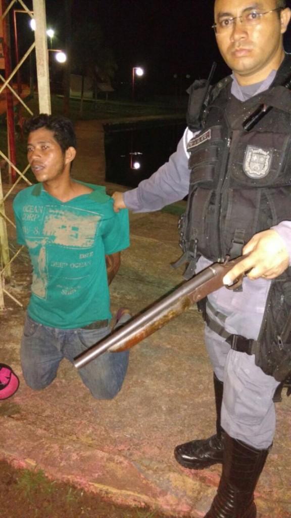 Waldicley foi reconhecido pela vítima. Fotos: Divulgação/BPRE