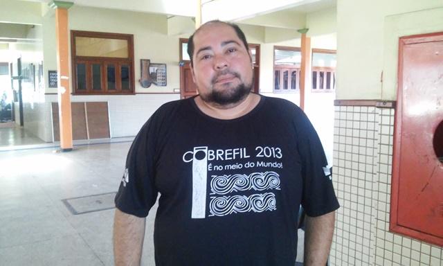 Marlom Vaz, estudante de filosofia
