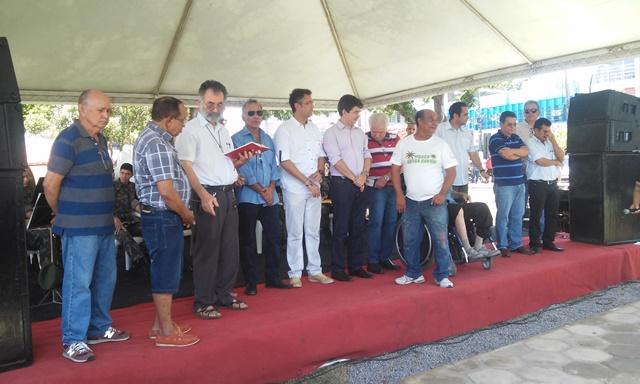 Obra é fruto de emenda parlamentar do senador Randolfe Rodrigues (Rede)