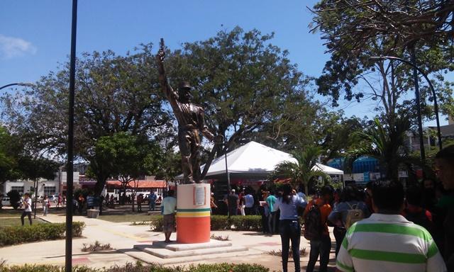 Estátua de Cabralzinho também foi revitalizada