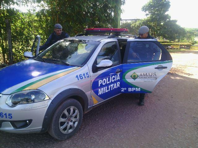 Policiais do 2º BPM foram até o local