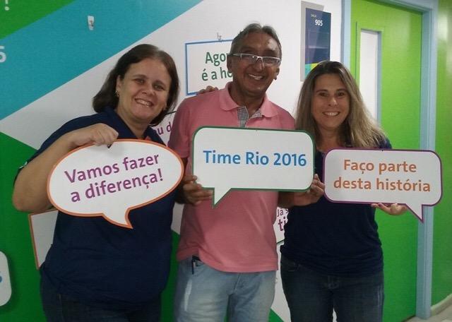 Raimundo Borges durante curso de formação de voluntários, no RJ. Foto: Arquivo Pessoal