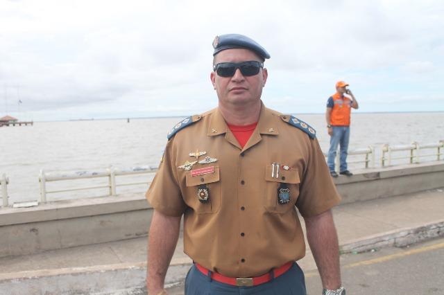 Tenente-coronel André Luis: segurança será reforça durante as férias