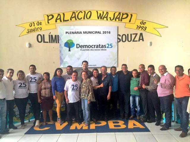 Lideranças de várias partidos participaram