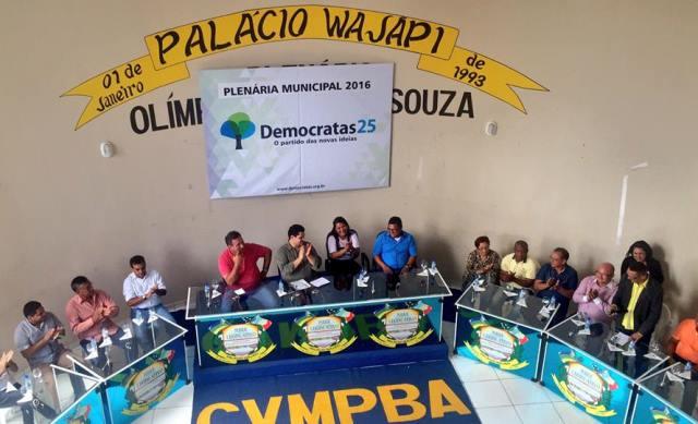 Plenária foi realizada na Câmara de Vereadores. Fotos: Ascom