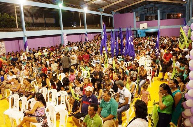 Evento demonstrou força na mobilização da militância. Fotos: Divulgação