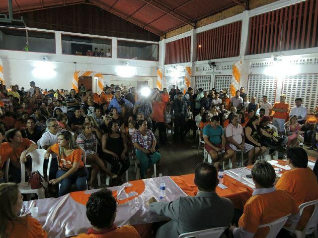 Festa de posse ocorreu no MV13. Fotos: Ascom
