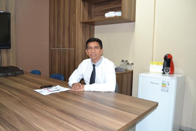 Secretário. Fotos: André Silva