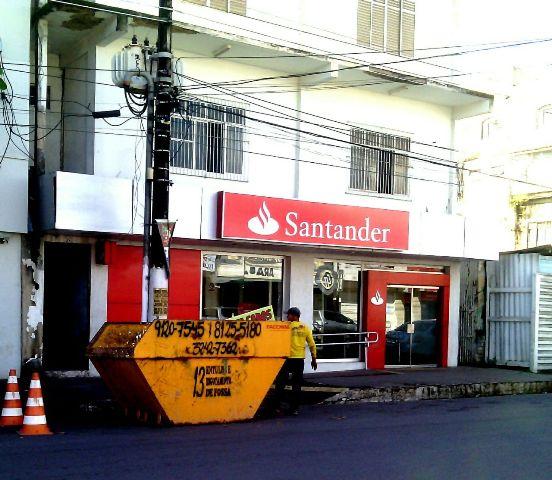 Santander vem sendo alvo dos criminosos
