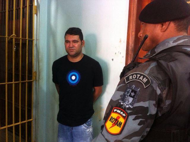 Policiais desconfiaram do nervosismo de Elielton Fernandes