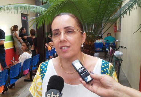 """Secretária de Saúde de Macapá, Silvanda Vadovele: """"traz também comodidade e assistência para os moradores do Muca"""". Fotos: Cássia Lima"""