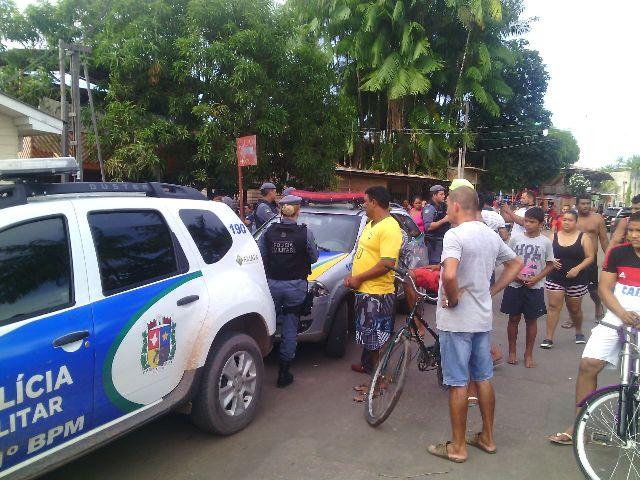 Suspeitos do crime ainda não foram presos. Fotos: Olho de Boto