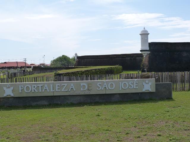 Fortaleza de São José é um dos cartões postais de Macapá. Foto: André Silva