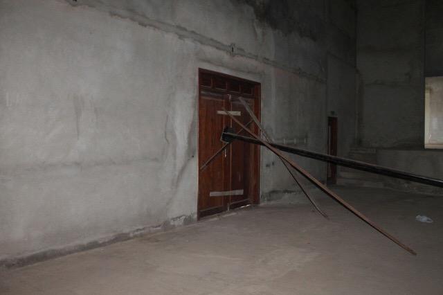 Portas do Teatro são. Fotos: Valdeí Balieiro