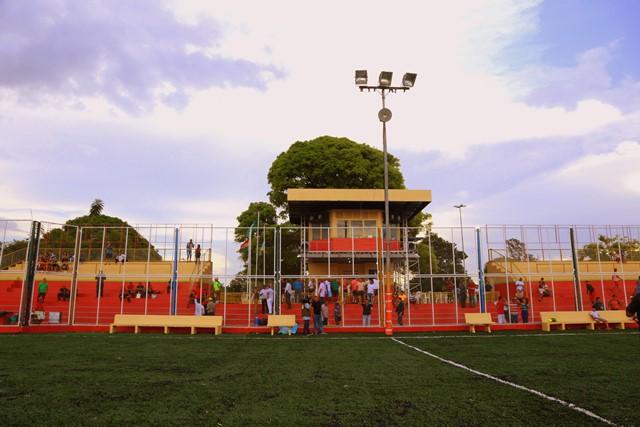 Estrutura ao redor da arena foi revitalizada pela PMM. Foto: Márcio do Carmo