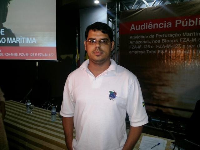 Analista do Ibama, Itagiba Alvarenga Neto: todos os pontos já foram revisados. Fotos: André Silva