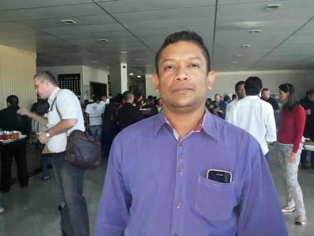 Presidente da Federação de Pescadores do Estado do Amapá, Leidinaldo Luiz