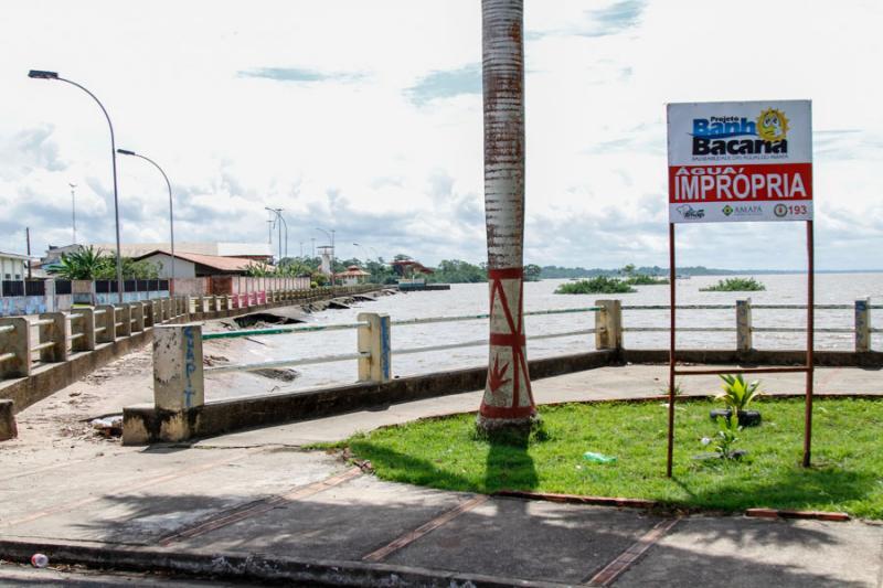 Perpéturo Socorro é um dos pontos que está impróprio para banho. Foto: Divulgação/Secom