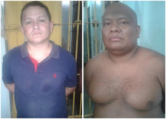 Maykon e Marcos foram apresentados no Ciosp do Pacoval. Fotos: Olho de Boto