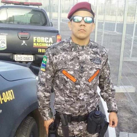 Soldado Rocha, do Corpo de Bombeiros
