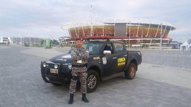 Capitão Siqueira, chefe de Segurança do Parque da Barra