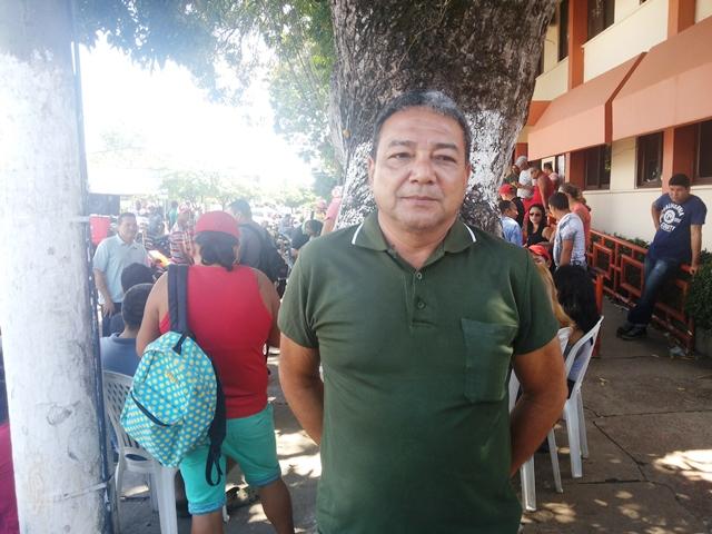 Roberto Farias, presidente do Sindicato dos Vigilantes: metade das escolas sem vigilância. Fotos: Seles Nafes