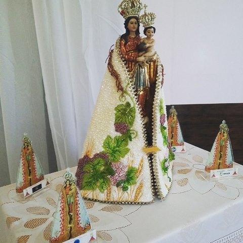 Imagem da Virgem Maria