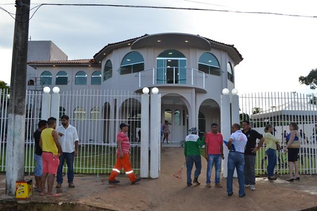 Sede da prefeitura de Mazagão inaugurada em julho de 2016