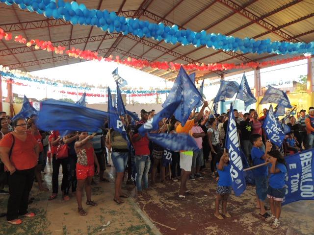 Lideranças de vários distritos estiveram na convenção. Fotos: Humberto Baía