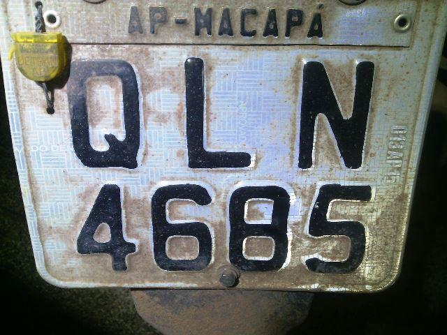 Número verdadeiro da placa é 4665: 6 foi transformado em 8