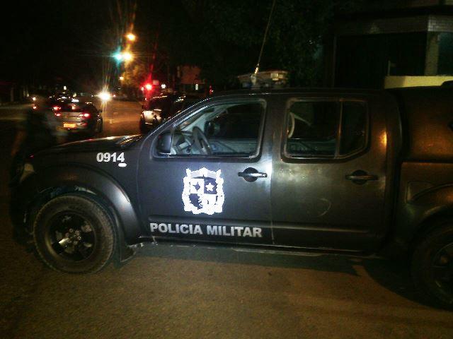 Viatura do Bope: policiais foram recebidos a tiros e revidaram