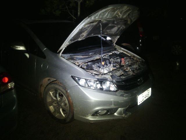 Carro original estava em uma garagem em Niquelândia, Goiás. Fotos: Olho de Boto