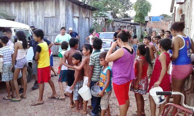 Mais de 100 famílias são atendidas