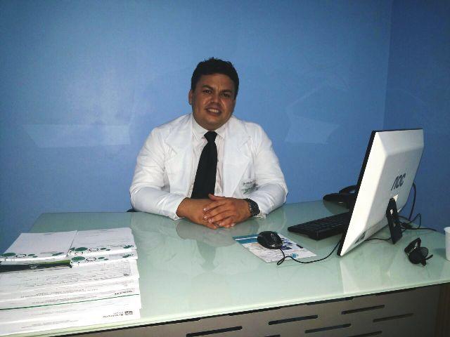 "Wesley Amaral, médico traumatologista do HE: "" Foto: André Silva"