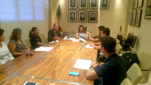Pecuaristas, Diagro e MP discutem o assunto. Fotos: Júlio Miragaia