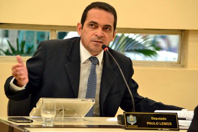 """Paulo Lemos, deputado estadual: """""""