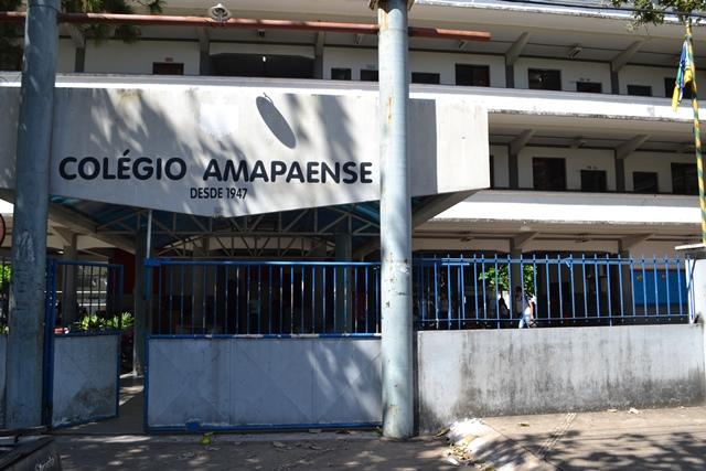 Além do Colégio Amapaense, outras 367 escolas retornaram com as aulas nesta segunda