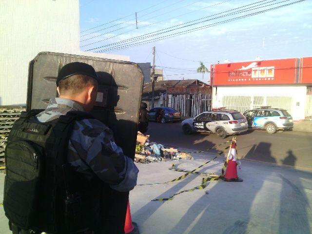 Perseguição terminou no Bairro do Buritizal. fotos: Olho de Boto