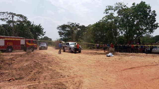 Outras pessoas trabalhavam no local no momento do acidente