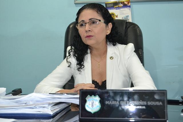 Delegada geral da Polícia Civil do Amapá: defasagem grande