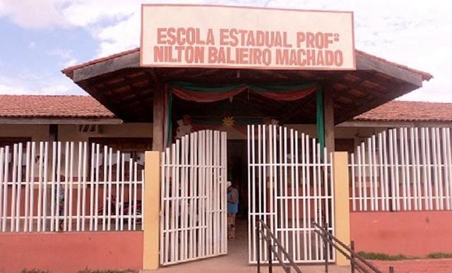 Escola Nilton Balieiro. Foto: arquivo