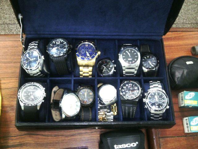 Relógios foram recuperados pelo Bope