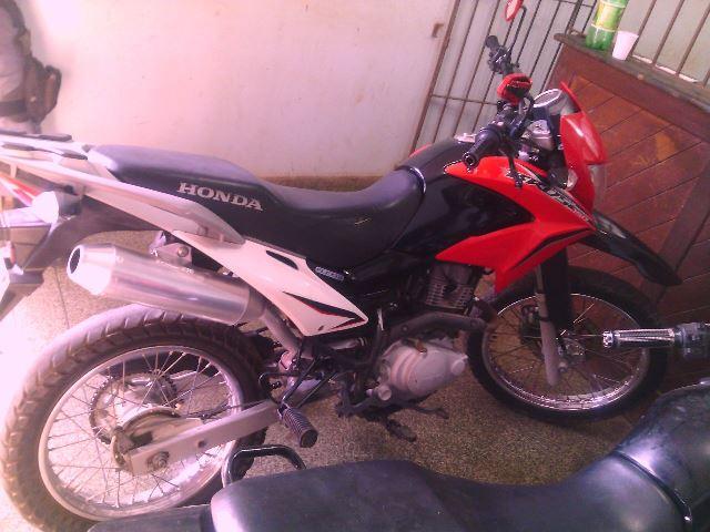 Moto usada por Marco Monteiro
