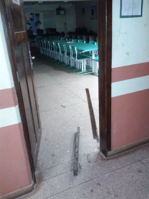 Escola arrombada no dia 9 de agosto