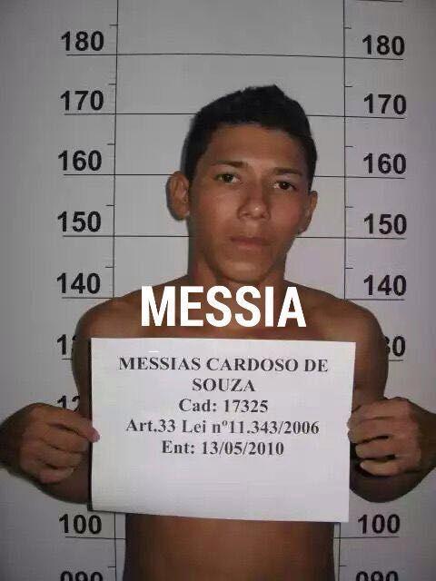 Messias Cardoso também morreu no confronto. Fotos: Arquivo policial